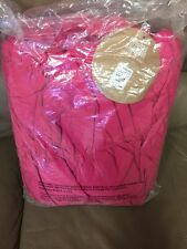 New Pottery Barn Teen Large Magenta Pink Crinkle Puff Bean Bag Slip Cover