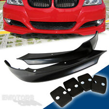BMW E90 3-SERIES SALOON LCI FRONT SPLITTER LIP ABS 2009-2011