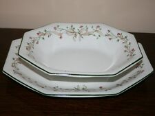 Johnson Bros Eternal Beau Serving Dish & Small Platter