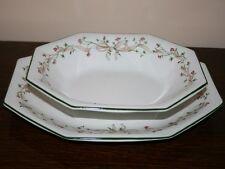 Johnson Bros Eternal Beau Serving Dish & Small Platter