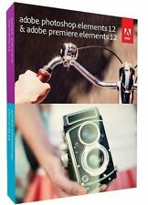 Adobe  photoshop Elements 12 & premiere elements 12 for Windows & Mac FULL Ver.