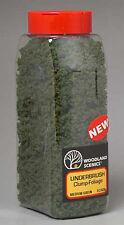 NEW Woodland Scenics Underbrush Shaker Medium Green 32 oz FC1636