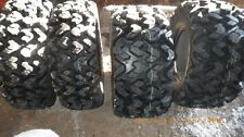 (2) New 27x9-14 & (2) 27x11-14 Sedona Rip Saw 6-Ply Radial ATV / UTV Tire Set