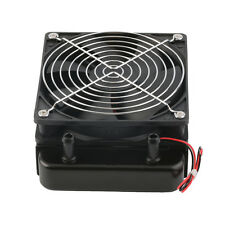 120mm Water Cooling CPU Cooler Row Heat Exchanger Radiator with Fan for PC E0