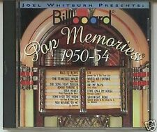 CD-Pop Memories 1950 - 54