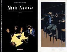 LERECULEY NUIT NOIRE  T.1 - EDITION ORIGINALE+ EX-LIBRIS SIGNÉ EN SERIGRAPHIE