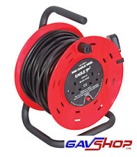 Mains Electric Extension Reel Drum Coil & Stand 30 mtrs - E250EA