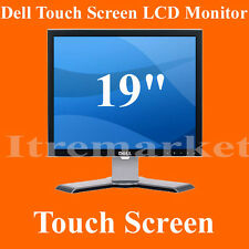 "Dell 19"" LCD Touchscreen LCD touch screen Monitor POS Point of Sale PC Computer"