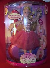 Mattel Genevieve Barbie Doll In The 12 Dancing Princesses Blonde DVD NRFB MIB