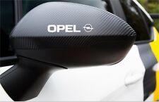 6x OPEL Sticker Außen- spiegel Türgriff / Spiegel Aufkleber Opel Astra Insignia