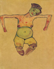 Schiele Egon Pregnant Woman Print 11 x 14    #6173