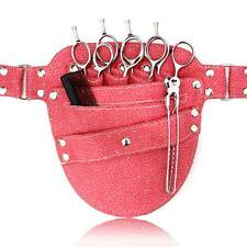 PINK SPARKLE HAIRDRESSING SCISSOR HOLSTER WAIST POUCH BAG