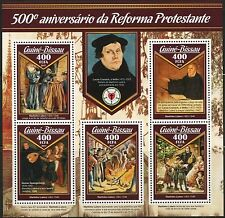 GUINEA BISSAU  2017 500th ANNIVERSARY OF PROTESTANT REFORMATION SHEET MINT NH