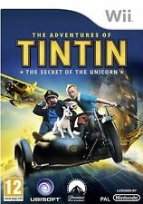 THE ADVENTURES OF TINTIN THE SECRET OF THE UNICORN WII KIDS GAME PAL