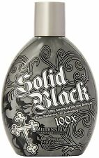 Millenium Tanning New Solid Black Bronzer Tanning Bed Lotion, 100x, 13.5-Ounce
