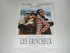 AFFICHE PROMO VIDEO CLUB--LES GRINCHEUX--LEMMON/MATTHAU/MARGRET/PETRIE