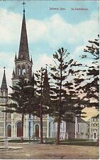 Canada Quebec Joliette - La Cathedrale old used not mailed postcard