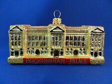 Buckingham Palace London England Glass Christmas Tree Ornament Poland 011150