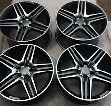 "SET OF FOUR 19"" x8.5 9.5 WHEELS RIMS for MERCEDES S550 S55 S65 S600 S63 AMG NEW"