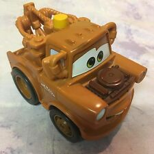 TOW MATER Disney Pixar Cars TOY TOW TRUCK TOY MAKES NOISE
