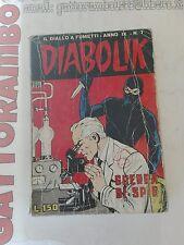Diabolik N.7 Anno IX- Astorina buono