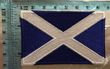 Scotland National World Country   Embroidered Iron Sew on Patch Badge 75
