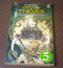 Fighting Fantasy city of Thieves #5 Steve Jackson & Ian Livingstone