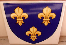 French Arms of the Kingdom of France 1376–1515 ~Agincourt~ FLAG CERAMIC TILE