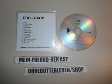 CD Hiphop Cro - Raop (13 Song) Promo GROOVE ATTACK