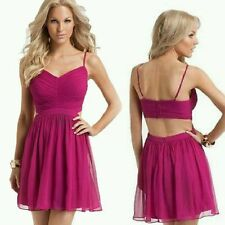 $228 GUESS by Marciano Short Dress Luxury Silk Pink