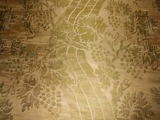 5+Y new LEE JOFA woven silk fabric Olive green Golden beige Tuscan Ivy & Grapes