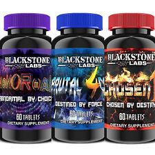 Blackstone Labs - Trifecta Stack - Abnormal + Brutal 4ce + Chosen1 + FREE SAMPLE