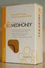 "5 Pack -MEDIHONEY Honeycolloid Wound Dressing Non-Adhesive 4"" x 5"" 31245"