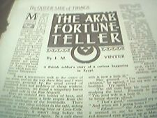 ephemera 1949 article the arab fortune teler i m vinter soldier in egypt