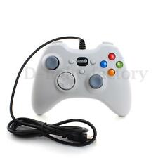 WHITE Wired USB Gamepad Controller Joystick Joypad for Resembles XBox360 PC US