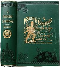 1900 A SOLIDIERS EXPERIENCE CRIMEAN WAR INDIAN MUTINY AFGHAN CAMPAIGNS NEAR FINE