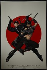 Legend of The Shadow Clan Michael Turner Aspen Art Print Limited to 100
