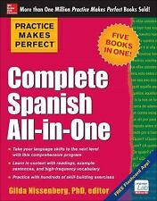 Practice Makes Perfect Complete Spanish All-in-One, Nissenberg, Gilda