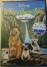 IN FUGA A QUATTRO ZAMPE DVD Edizione Warner Disney bollino in lire live action
