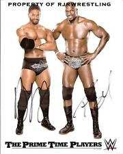 WWE THE PRIME TIME PLAYERS SIGNED 8X10 PROMO PHOTO TITUS ONEIL DARREN YOUNG WWF
