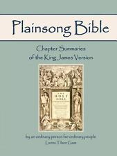 Plainsong Bible: Chapter Summaries of the King James Version
