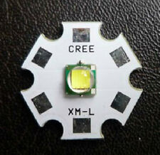 New Top 10W Cree Single-Die XM-L LED T6 White 20mm Star Base,1040Lm@3000mA