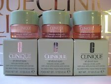 Lot of 3~ CLINIQUE~ ALL ABOUT EYES~ Eye Cream Jars, 0.17oz/5ml each~ NEW IN BOX!