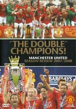 MANCHESTER UNITED THE DOUBLE CHAMPIONS 07/08 BRAND NEW SEALED DVD