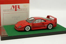 MR Models 1/43 - Ferrari F40 Red