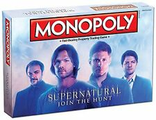 Monopoly: Supernatural Collector's Edition Board Game