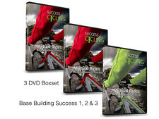 3 x Turbo Training Cycling DVDs Base Building Success 1, 2 & 3