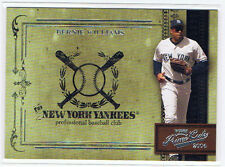 Bernie Williams 2004 Playoff Prime Cuts Baseball NY New York Yankees #d 209/699