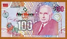 Ireland Northern Bank 100 pounds, 2005, P-209, UNC   Rare