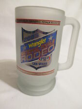 2005 PRCA Wrangler National Finals Rodeo Las Vegas Frosted Mug/Stein Cowboy USA